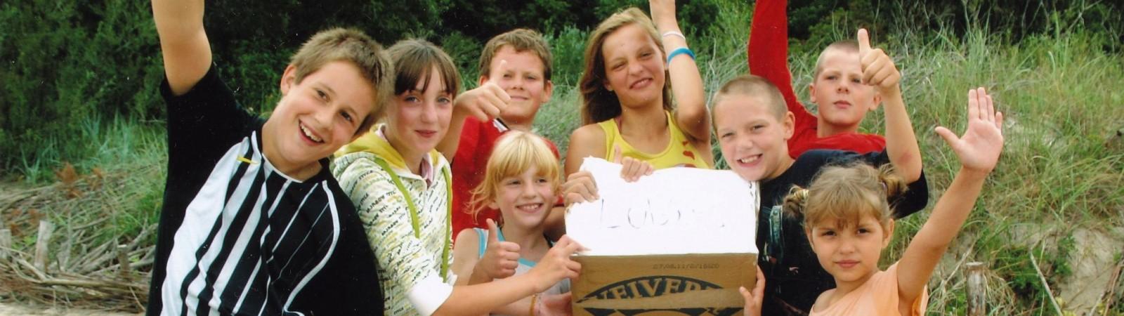 2011 - VVM - Kaunas - vaikai stovykloje labas